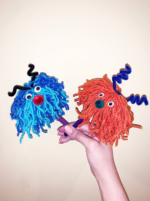Drop Off Craft: Hairy Monsters!