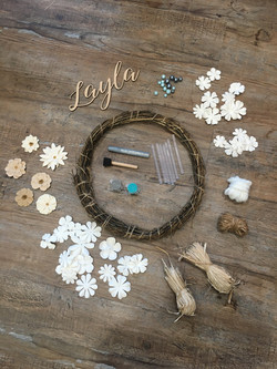 Custom Wreath Craft Kit
