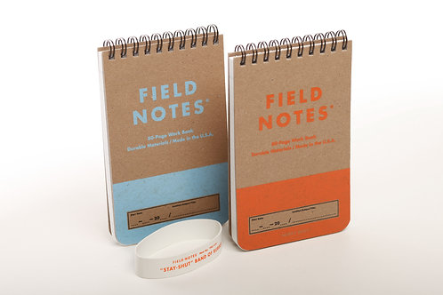 Heavy Duty Work Books Ruled+Graph Set of 2