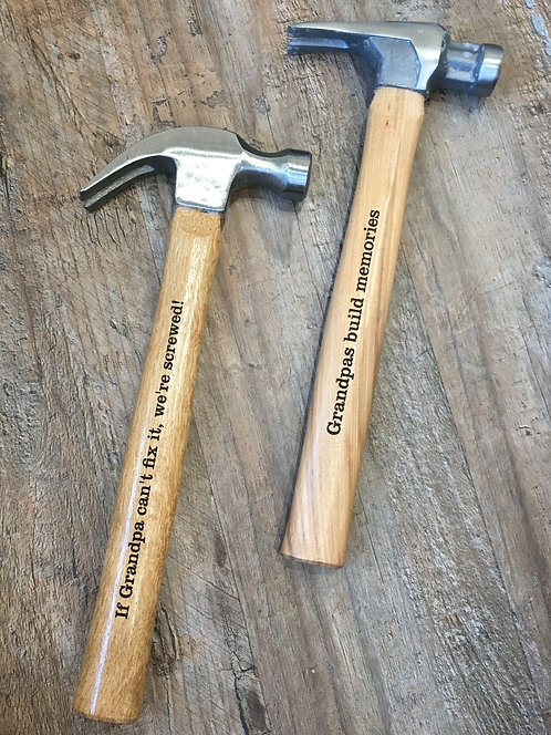 Custom Engraved Hammer