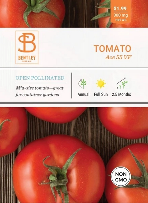 Tomato Ave 55 - Seed Packet