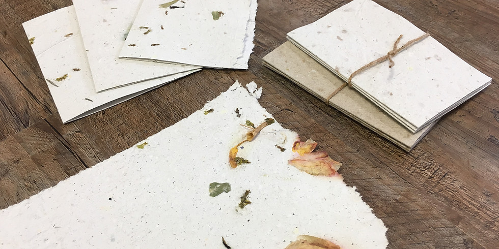 Paper Making: Recycling Event