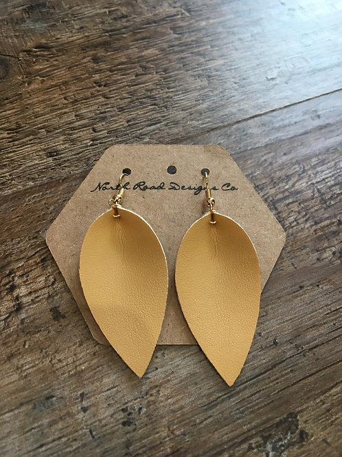 North Road Designs Leaf Earrings