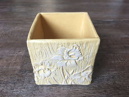 Daffodil Tile Box by Theresa Mustafa