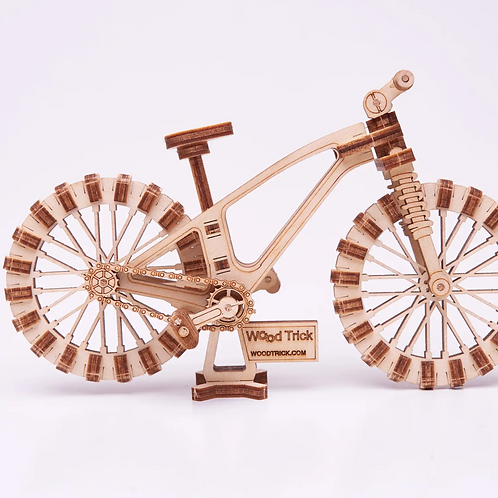 Bicycle Wood Puzzle