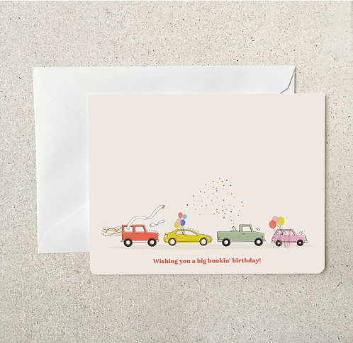 Greeting Card (Quarantine Honkin' Birthday)