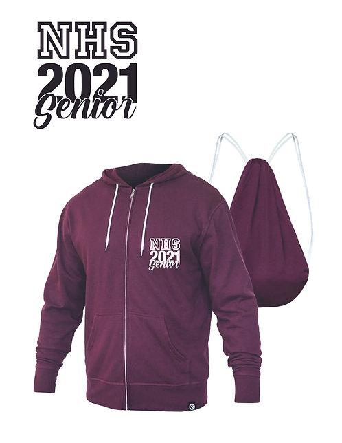 Project Graduation Class of 2021 Fundraiser Full-Zip Hoodie