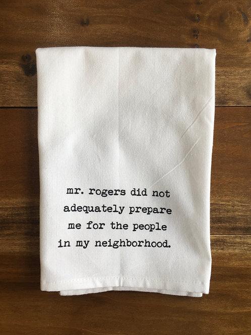 Tea Towel: Mr. Rogers