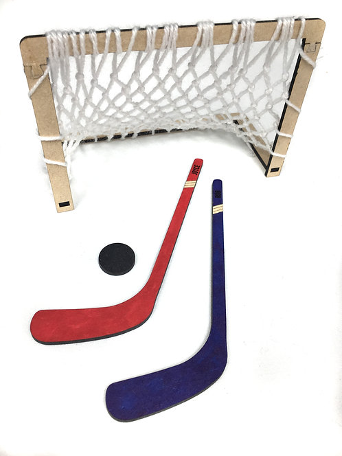 Drop Off Craft: Lasercut Personalized Desktop Hockey