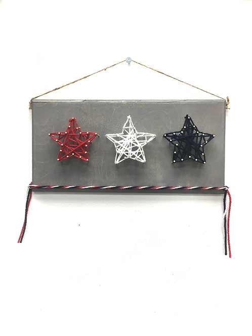 Drop Off Craft: Star Nail/String Art