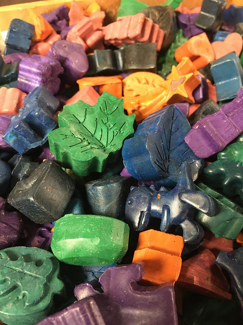 Assorted Handpoured Crayons