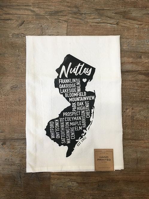 Nutley 'Street' Flour Sack Towel