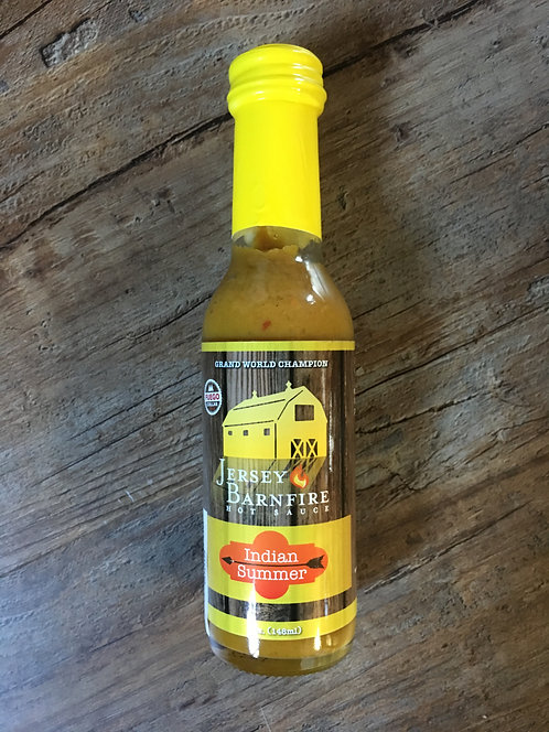 Jersey Barnfire: Indian Summer: Hot Sauce