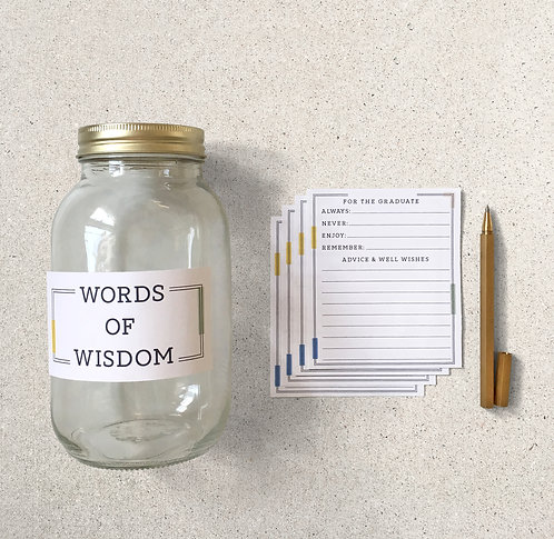 Words of Wisdom Kit