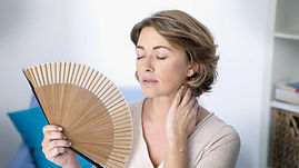 Overcome menopause symptoms naturally with Los Angeles Certified Clinical Hypnotherapist Brice Le Roux.