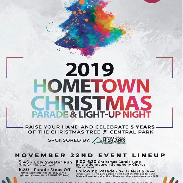 Hometown Christmas Parade & Light-up Night