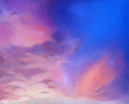 LandSpaces NGC 658002, oil on canvas, 65