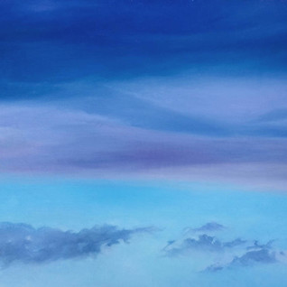 LandSpaces NGC 658001, oil on canvas, 65