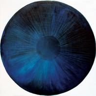 Web Cosmic'Eye NGC 0302, 30x30 cm, Oil o
