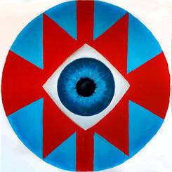 Sofra Cosmic'Eye 20x20 cm Oil on canvas