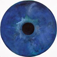 Web Cosmic'Eye NGC 0206, 20x20 cm, Oil o