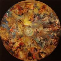Cosmic'Eye NGC 1152 100x100 cm, mixed me