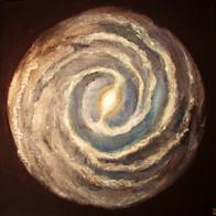 Cosmic'Eye NGC 0553, 50x50 cm, acrylic o