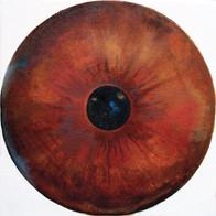 Web Cosmic'Eye NGC 0202, 20x20 cm, Oil o
