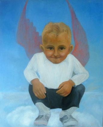 Angel or Devil -  Ange ou Demon, 73x60 c