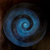 Cosmic'Eye NGC 1172, 100x100 cm, acrylic