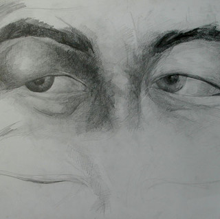 Expression 06, 55x65 cm, drawing on pape