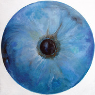 Web Cosmic'Eye NGC 0201, 20x20 cm, Oil o