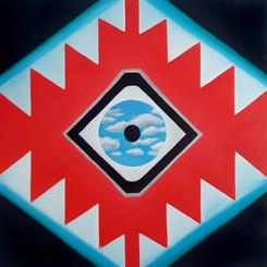 Sofra & SkyEye 80x80 cm Oil on canvas 01