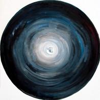 Web Cosmic'Eye NGC 0508, 50x50 cm, Oil o