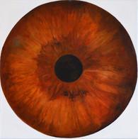 Web Cosmic'Eye NGC 0514, 50x50 cm, Oil o