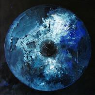 Cosmic'Eye NGC 1171, 100x100 cm, acrylic