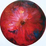 Web Cosmic'Eye NGC 0506, 50x50 cm, Oil o