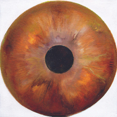 Web Cosmic'Eye NGC 0203, 20x20 cm, Oil o