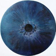 Web Cosmic'Eye NGC 0211, 20x20 cm, Oil o