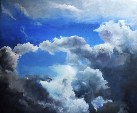 LandSpaces NGC 5465003, oil on canvas, 5