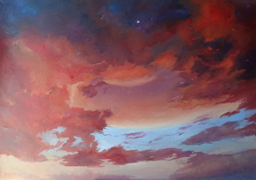 LandSpaces NGC 13016201, oil on canvas,