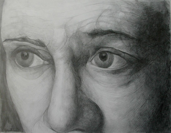 Expression 03, 55x65 cm, drawing on pape