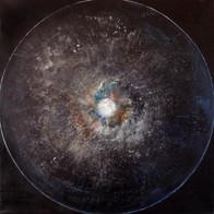 Cosmic'Eye NGC 1180, 100x100 cm, acrylic