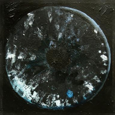 Cosmic'Eye NGC 01553, 15x15 cm, acrylic