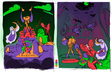 Spooky Band Poster Thumbnails
