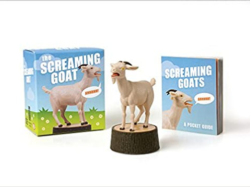 Screaming Goat (figure and book)