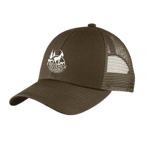 Adjustable Mesh Back Cap in Gray