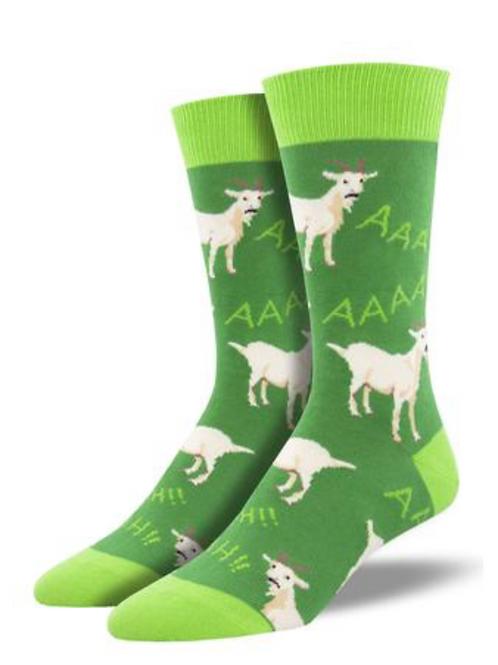 Men's Screaming Goat Crew Socks