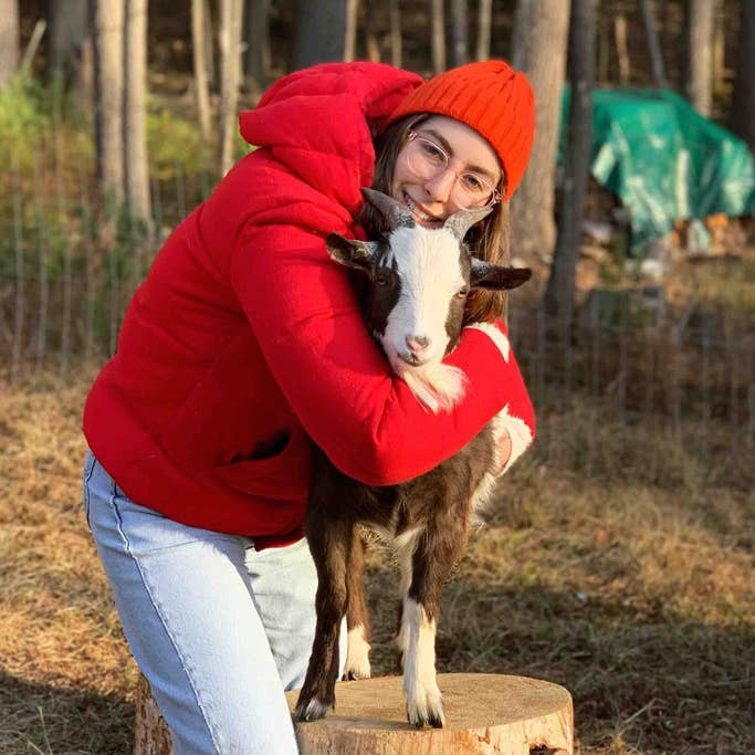 Hike, Hang, and Hugs with Rescue Goats