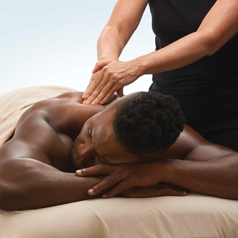 Sugar Scrub Exfoliation and Massage